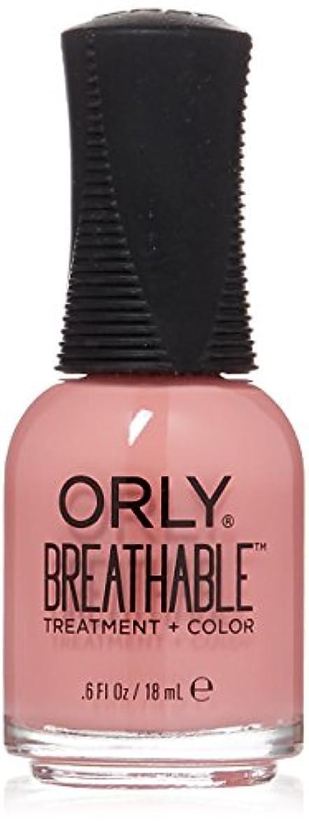 煙突パトロン高度Orly Breathable Treatment + Color Nail Lacquer - Happy & Healthy - 0.6oz/18ml