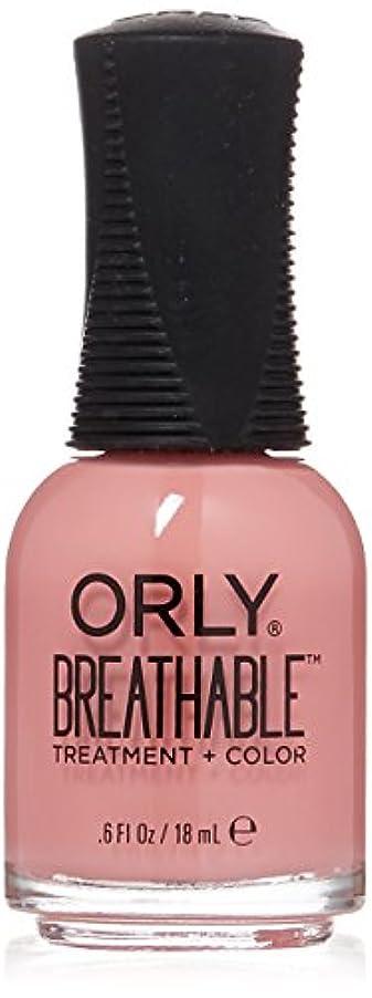 祖母鎮痛剤現象Orly Breathable Treatment + Color Nail Lacquer - Happy & Healthy - 0.6oz/18ml