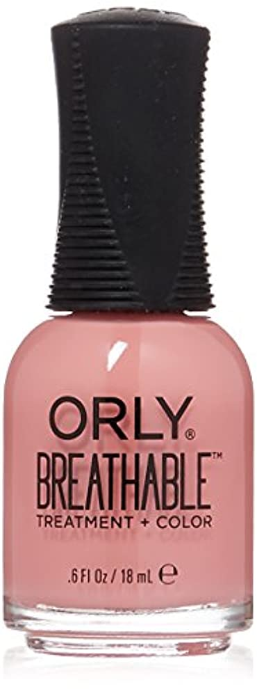 Orly Breathable Treatment + Color Nail Lacquer - Happy & Healthy - 0.6oz/18ml