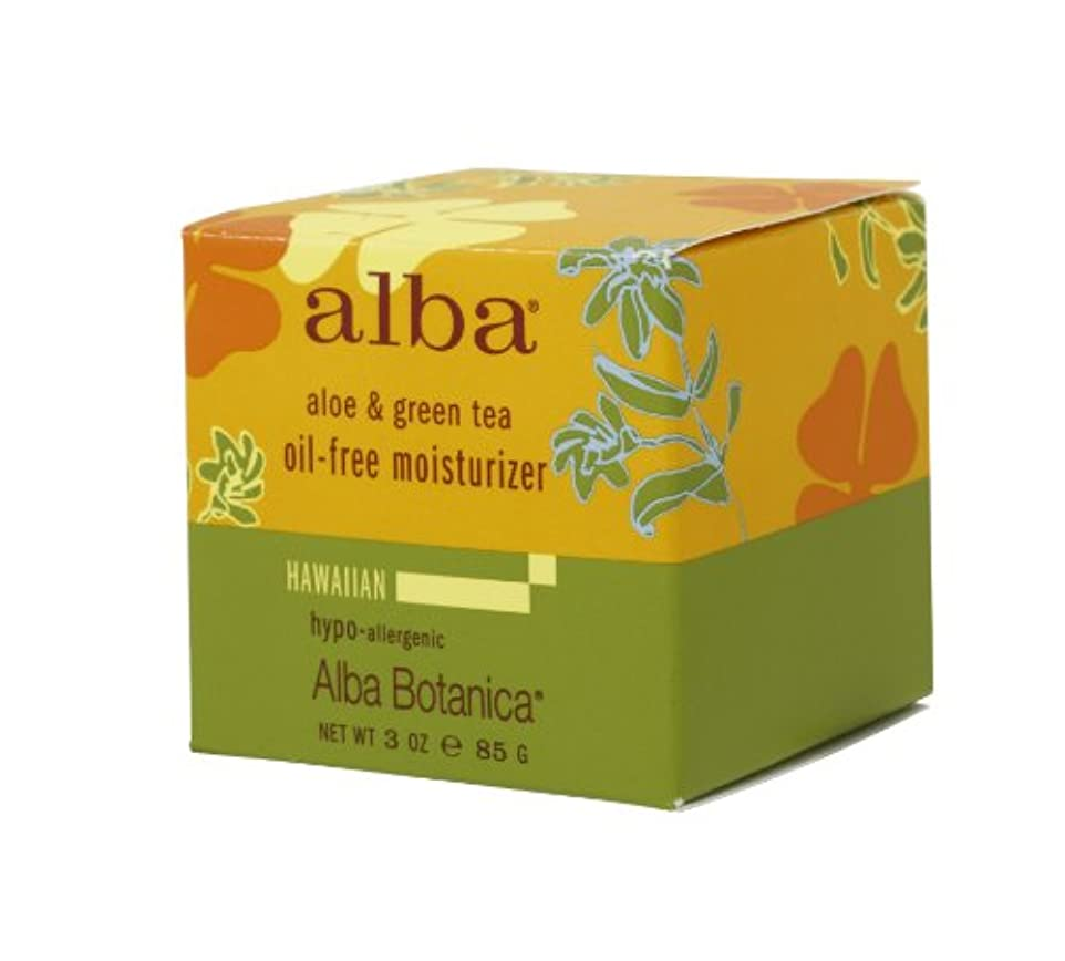 ネズミカーペット成功したalba BOTANICA アルバボタニカ ハワイアン オイルフリーモイスチャークリームAG アロエ&グリンティー