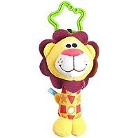 ea-stone幼児赤ちゃん開発Plush人形ライオン動物Hangingベル風チャイムRattleおもちゃKids