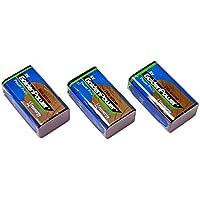 【3個セット】9Vアルカリ乾電池【006P/6F22】9ボルト角型アルカリ電池/ラジオ/防災/バッテリー【水銀0使用】