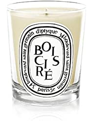 Diptyque Candle Bois Cir? / Polished Wood 190g (Pack of 2) - DiptyqueキャンドルBoisのCire /磨かれた木の190グラム (x2) [並行輸入品]