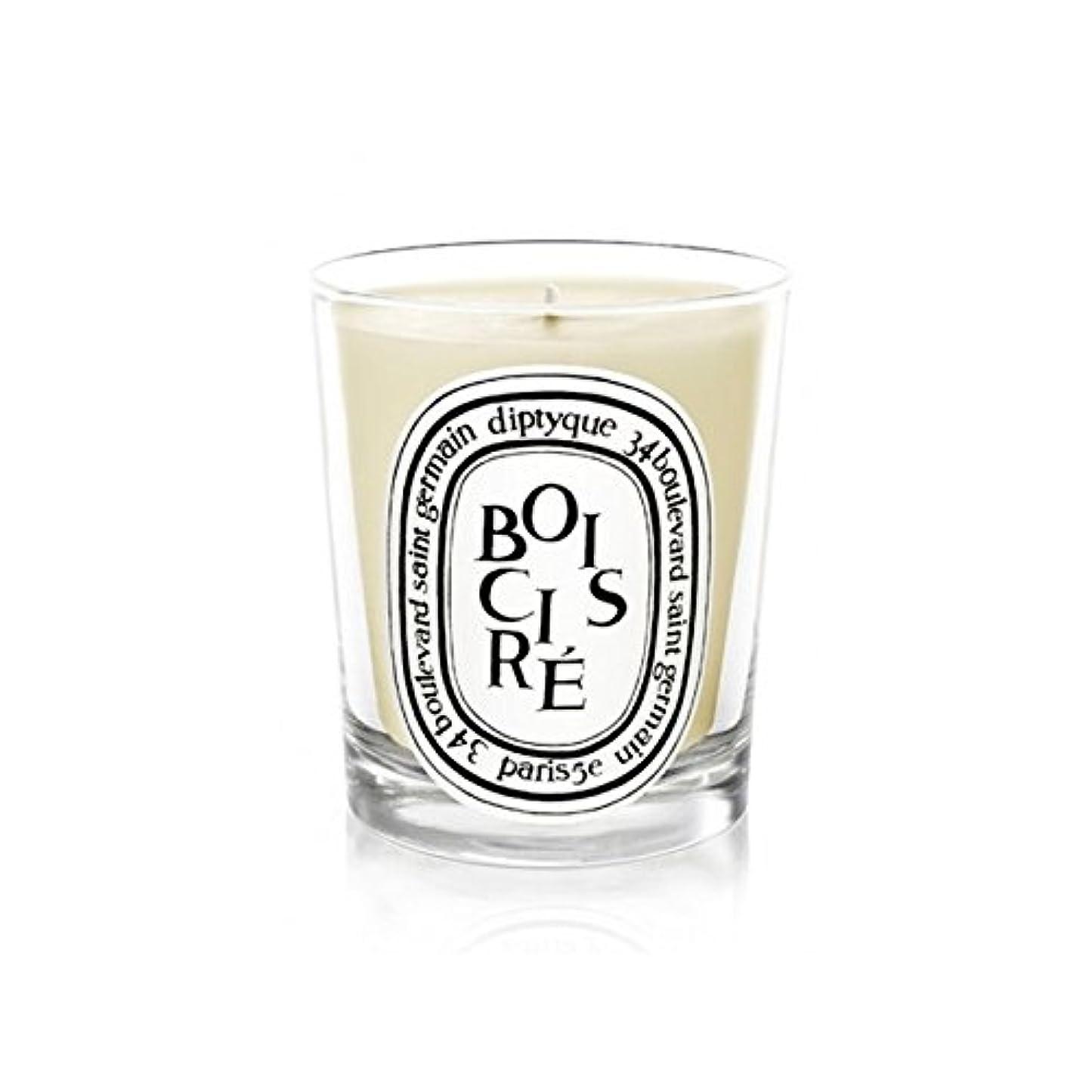 ピービッシュ議会制限Diptyque Candle Bois Cir? / Polished Wood 190g (Pack of 2) - DiptyqueキャンドルBoisのCire /磨かれた木の190グラム (x2) [並行輸入品]