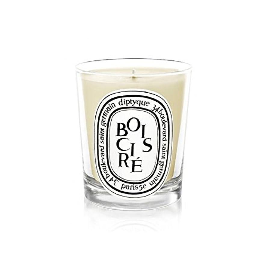 露仮定する帳面Diptyque Candle Bois Cir? / Polished Wood 190g (Pack of 2) - DiptyqueキャンドルBoisのCire /磨かれた木の190グラム (x2) [並行輸入品]