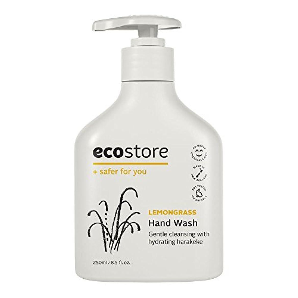 仮定するアイデア群集ecostore(エコストア) ハンドウォッシュ 【レモングラス】 250mL 液体タイプ