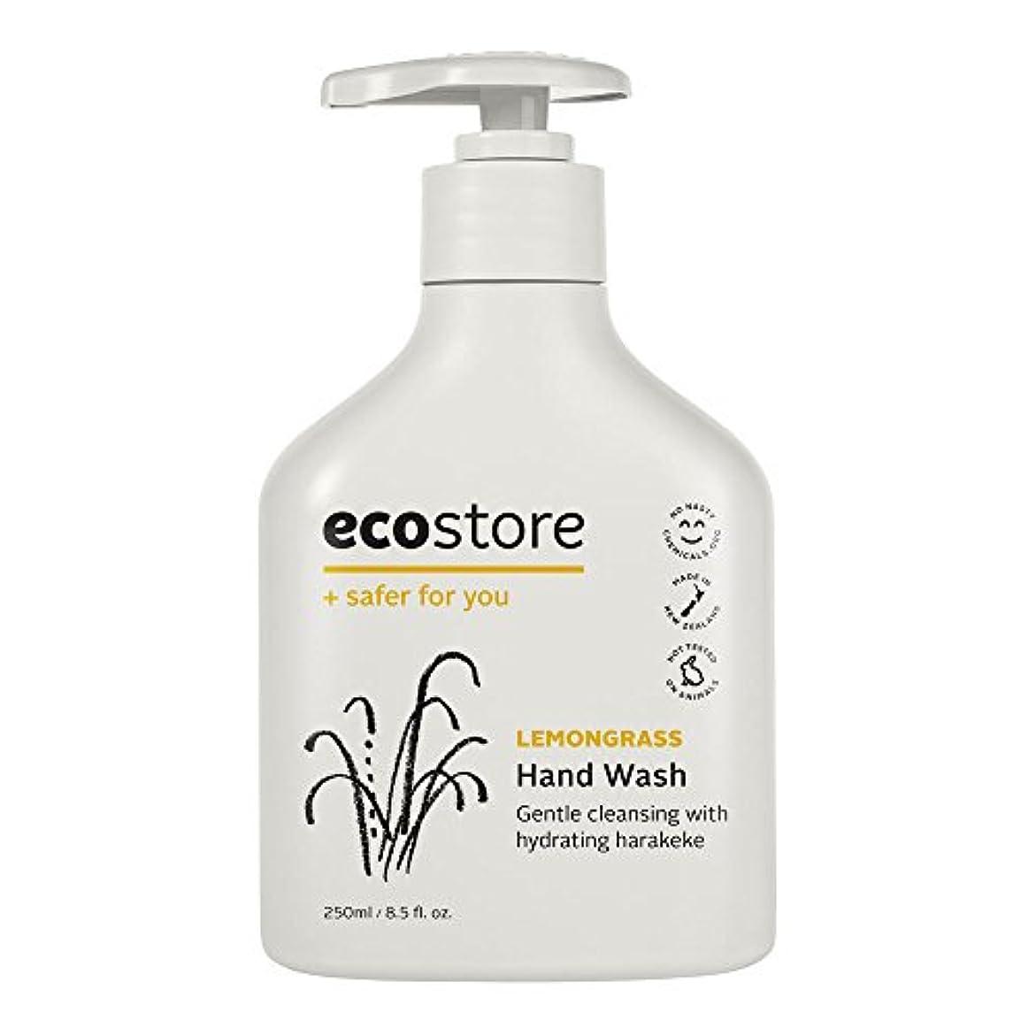優れた学習繁栄ecostore(エコストア) ハンドウォッシュ 【レモングラス】 250mL 液体タイプ