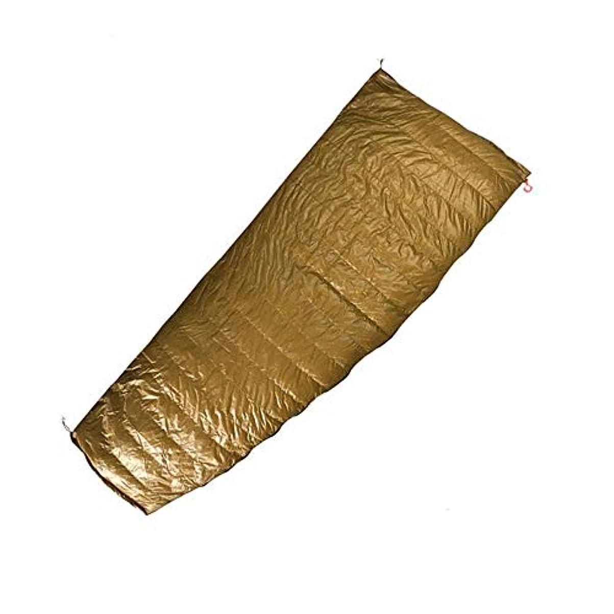 名声慰め大脳屋外の封筒95%ホワイトグースダウン寝袋キャンプハイキング用品,L
