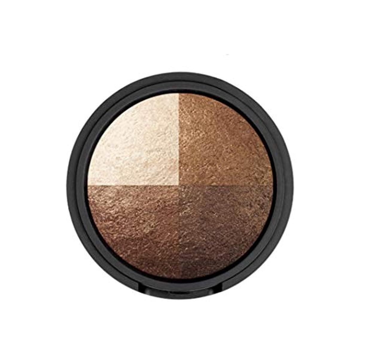 豪華な変装パーティションWAKEMAKE Eye Styler Eyeshadow 4色のアイシャドウパレット#7 REAL BROWN(並行輸入品)