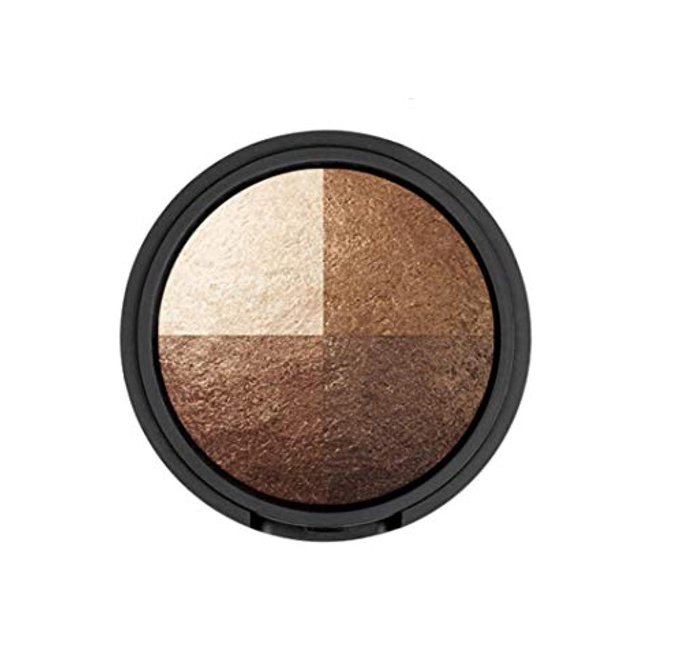 日食静かなプライバシーWAKEMAKE Eye Styler Eyeshadow 4色のアイシャドウパレット#7 REAL BROWN(並行輸入品)