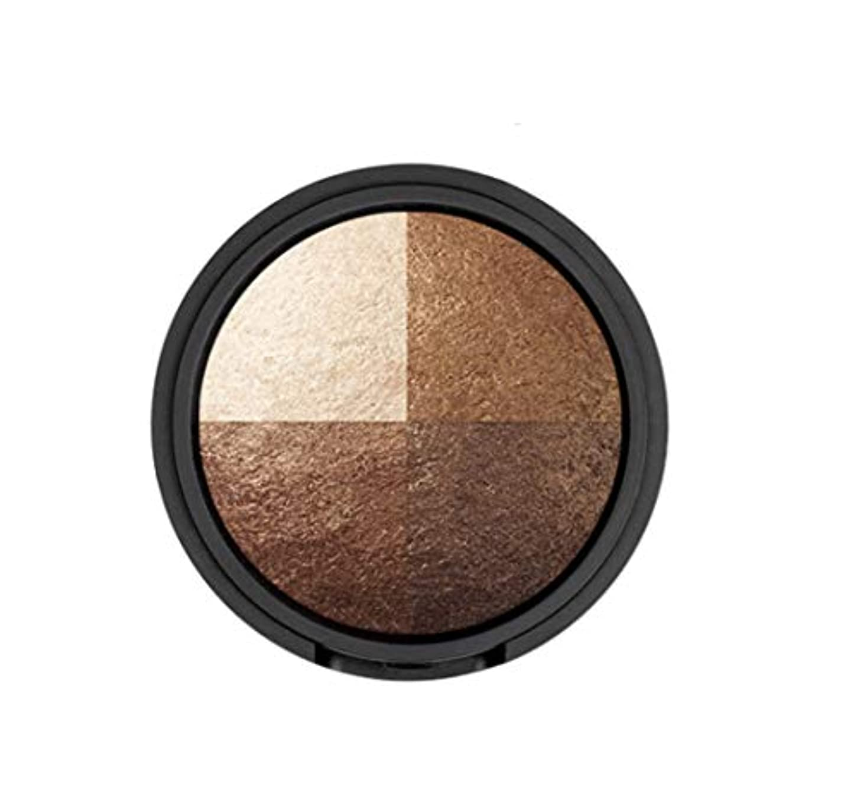 首相プラスチック印象的なWAKEMAKE Eye Styler Eyeshadow 4色のアイシャドウパレット#7 REAL BROWN(並行輸入品)