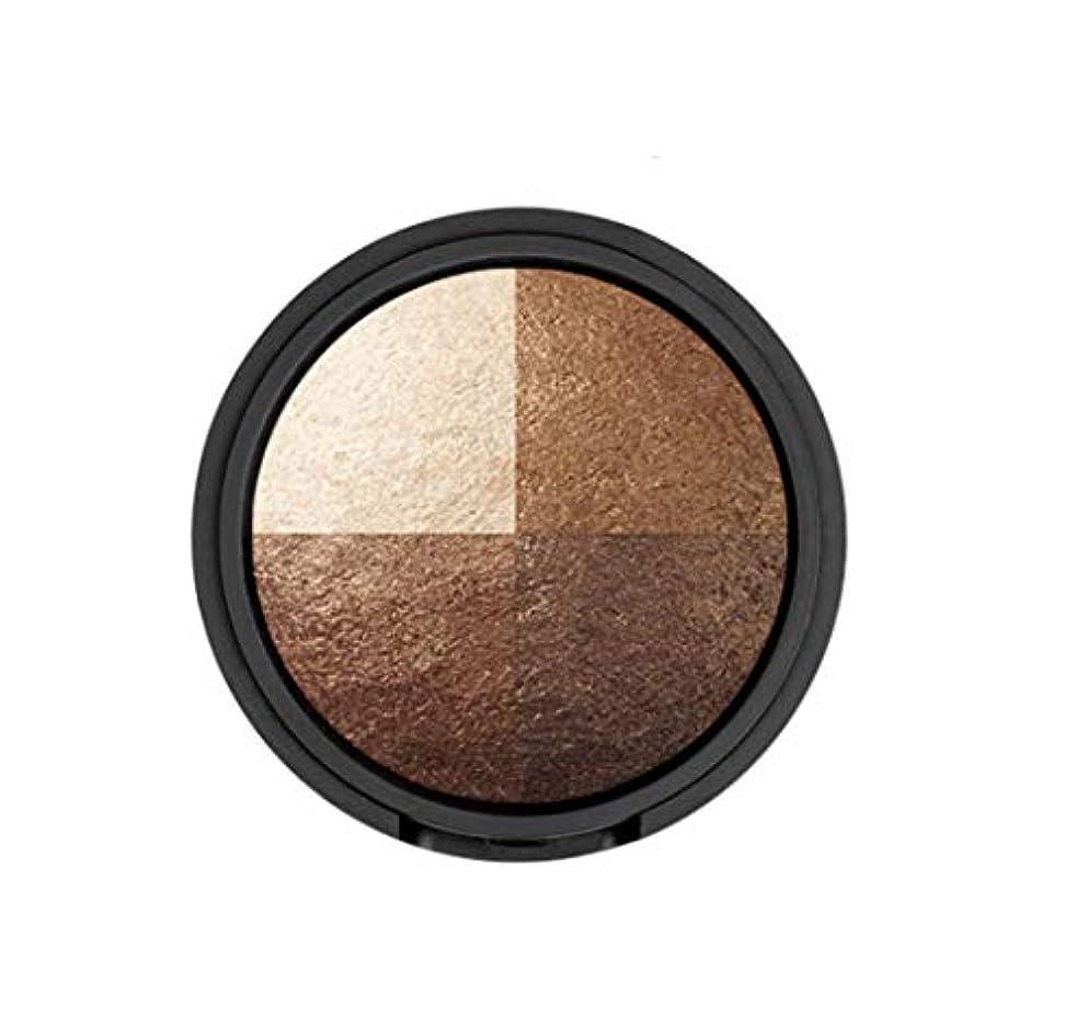 会計士カーフかなりWAKEMAKE Eye Styler Eyeshadow 4色のアイシャドウパレット#7 REAL BROWN(並行輸入品)
