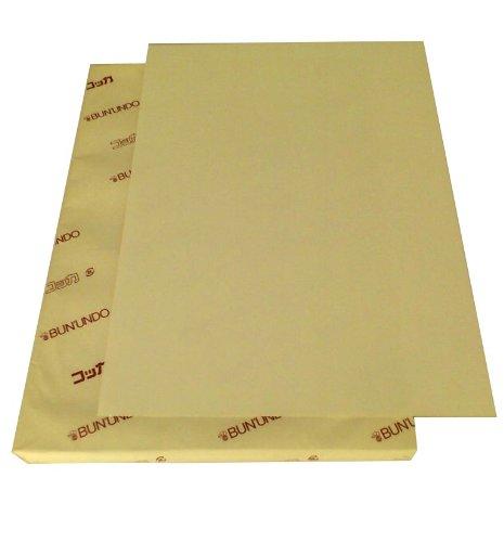 ケント紙 クラフト色 100枚 B5 KN-529