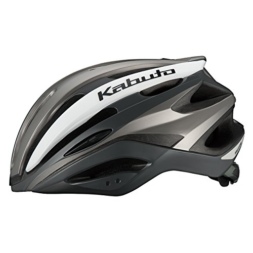 OGK KABUTO(オージーケーカブト) ヘルメット REZZA G-1 マットシルバー サイズ:M/L