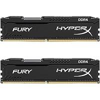 キングストン Kingston デスクトップ オーバークロックPC用メモリ DDR4-2666(PC4-21300) 4GBx2枚 HyperX FURY CL15 1.2V Non-ECC HX426C15FBK2/8 永久保証