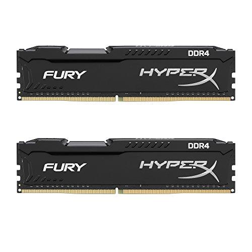 Kingston デスクトップ オーバークロックPC用メモリ DDR4-2666 16GBx2枚 HyperX FURY CL16 1.2V HX426C16FBK2/32 永久保証