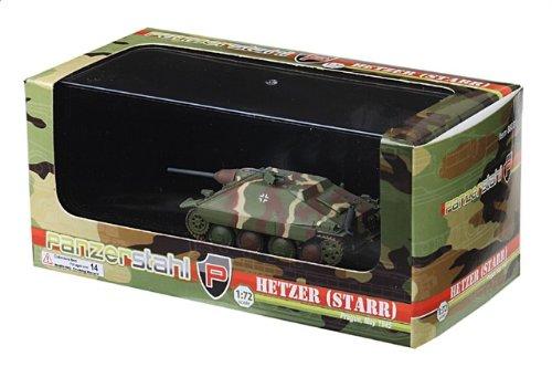 1:72 装甲車stahl ディスプレイ アーマー 88031 Skoda Sd.Kfz.138/2 Hetzer ディスプレイ モデル ドイツ軍 Kampfgruppe Milowitz Pragu