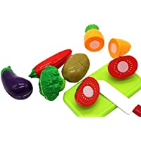 Zerbo Pretend並べ替えと一致する野菜Play Set for Kids