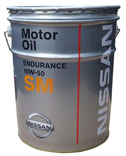 NISSAN エンジンオイル SMエンデュランス 10W50 化学合成油 20L