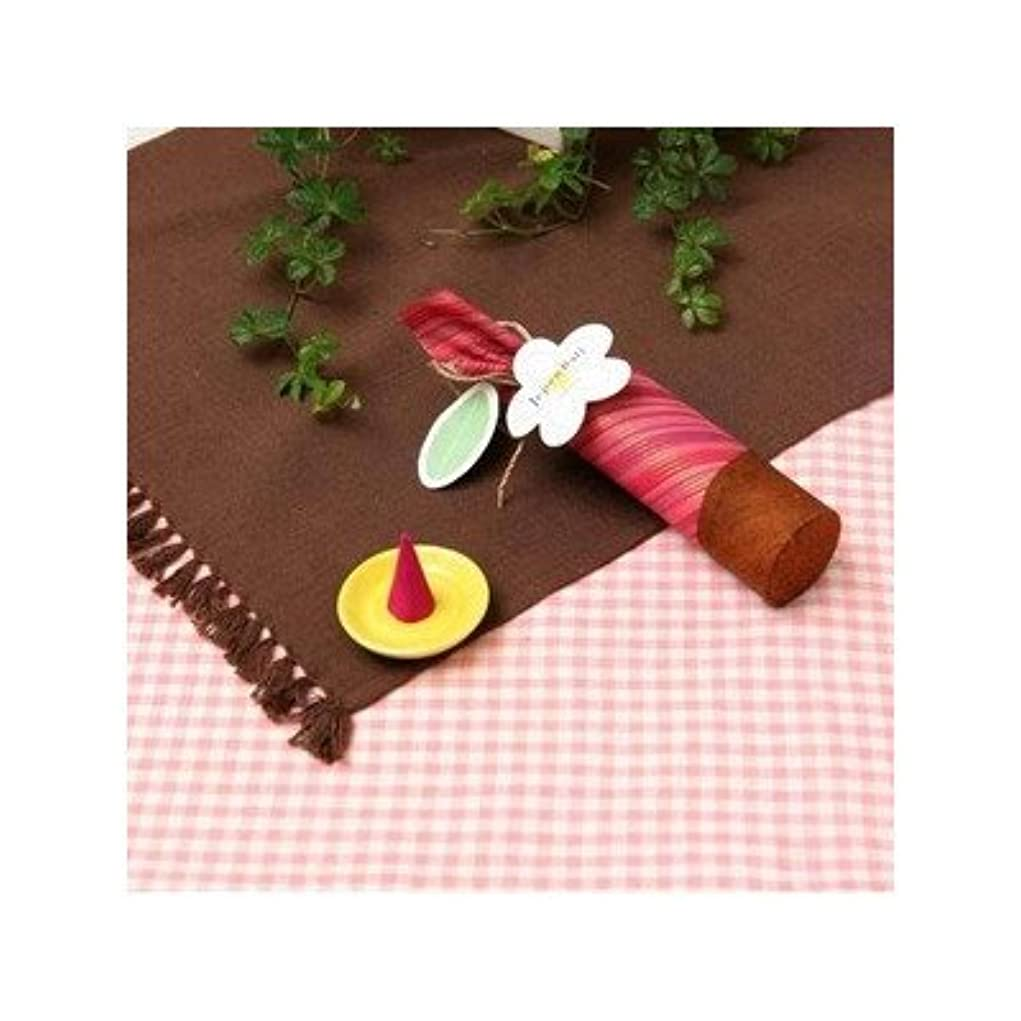 思い出させる土曜日電話に出るお香/インセンス 〔桜の香り コーンタイプ10個入り〕 バリ島製 「Jupen Bari ジュプンバリ」[通販用梱包品]