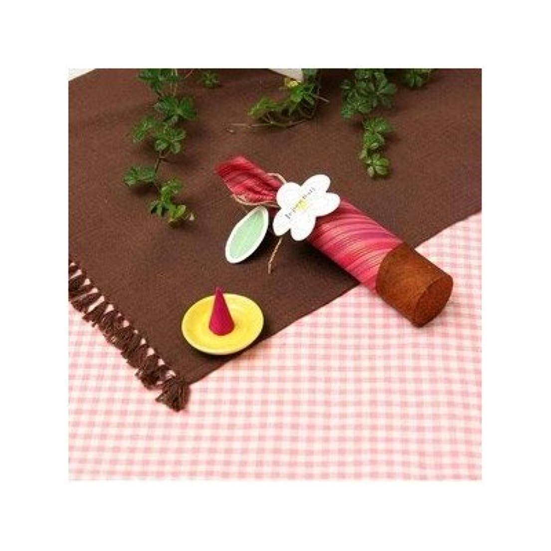 サイト配管偽お香/インセンス 〔桜の香り コーンタイプ10個入り〕 バリ島製 「Jupen Bari ジュプンバリ」[通販用梱包品]