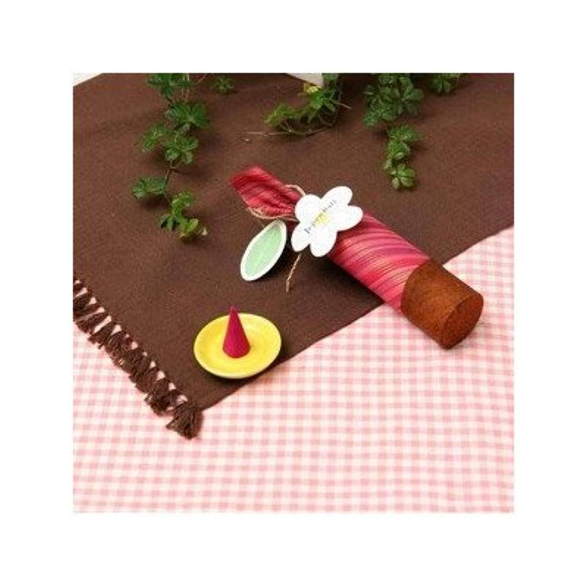 歯栄光排泄物お香/インセンス 〔桜の香り コーンタイプ10個入り〕 バリ島製 「Jupen Bari ジュプンバリ」[通販用梱包品]
