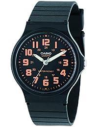 カシオ CASIO クオーツ メンズ 腕時計 MQ-71-4B ブラック/オレンジ[並行輸入品] [t-1]
