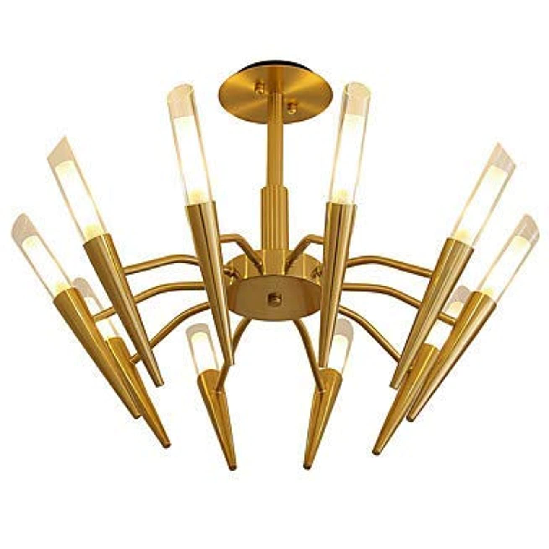 読む瞑想的汚れたLWD 10ライトスプートニク/コーン/幾何学的シャンデリアの キャンドルスタイル、ツリー、110-120V / 220-240V電球は含まれていません