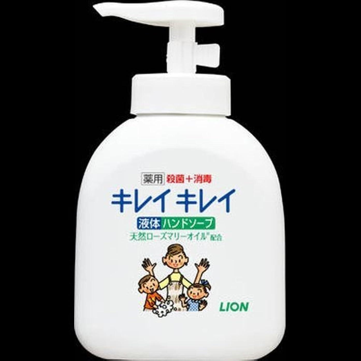繊毛バーベキュー連帯ライオン キレイキレイ 薬用液体ハンドソープ 本体 250ml ×2セット