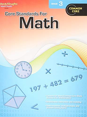 Download Core Standards for Math Grade 3: Common Core 0547878214
