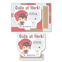 はたらく細胞 -by Sanrio- 赤血球 & 白血球 (好中球) ミニスタンド
