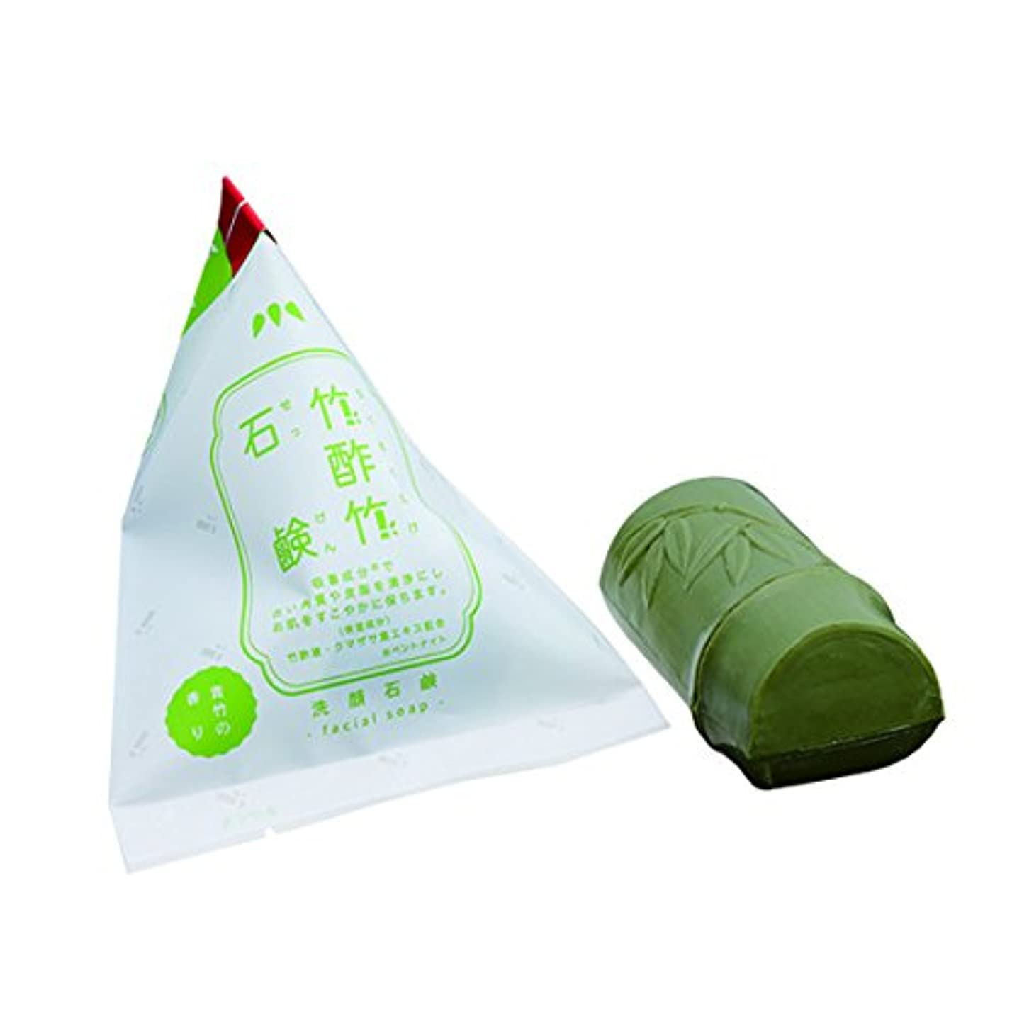 製油所挽く膨らませるフェニックス 化粧石けんAB(竹酢竹石鹸)標準重量120g