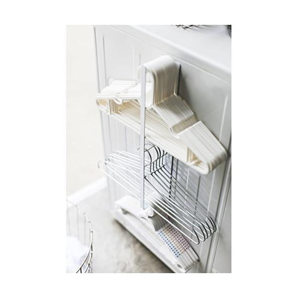 山崎実業 マグネット ハンガー収納 洗濯機横 ...の紹介画像3