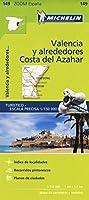 Valencia C.D. Azahar - Zoom Map 149 (Michelin Zoom Maps)