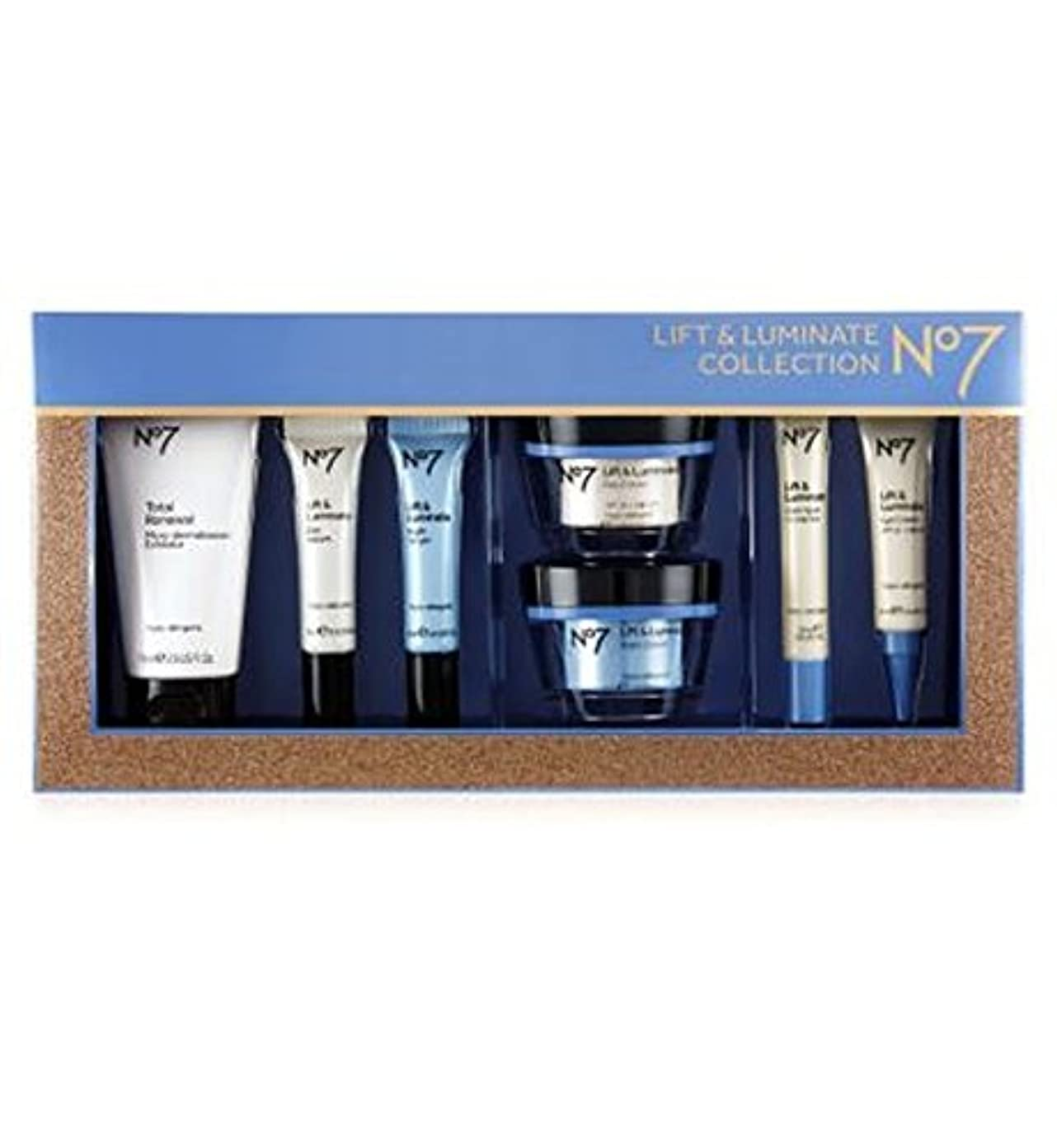 No7リフト&Luminateコレクション (No7) (x2) - No7 Lift & Luminate Collection (Pack of 2) [並行輸入品]