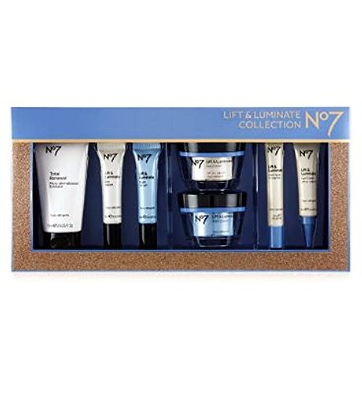 No7リフト&Luminateコレクション (No7) (x2) - No7 Lift & Luminate Collection (Pack of 2) [並行輸入品]