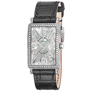 [フランク ミュラー]FRANCK MULLER 腕時計 ロングアイランド ホワイトパール文字盤 902QZRELDMOPBLK レディース 【並行輸入品】