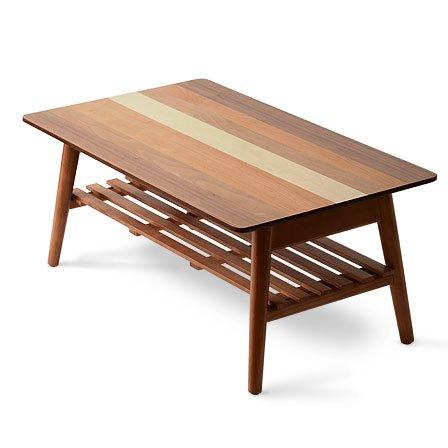ワイエムワールド 4種類の天然木 木製 折りたたみ テーブル...