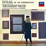 ムソルグスキー:組曲「展覧会の絵」、交響詩「はげ山の一夜」 他