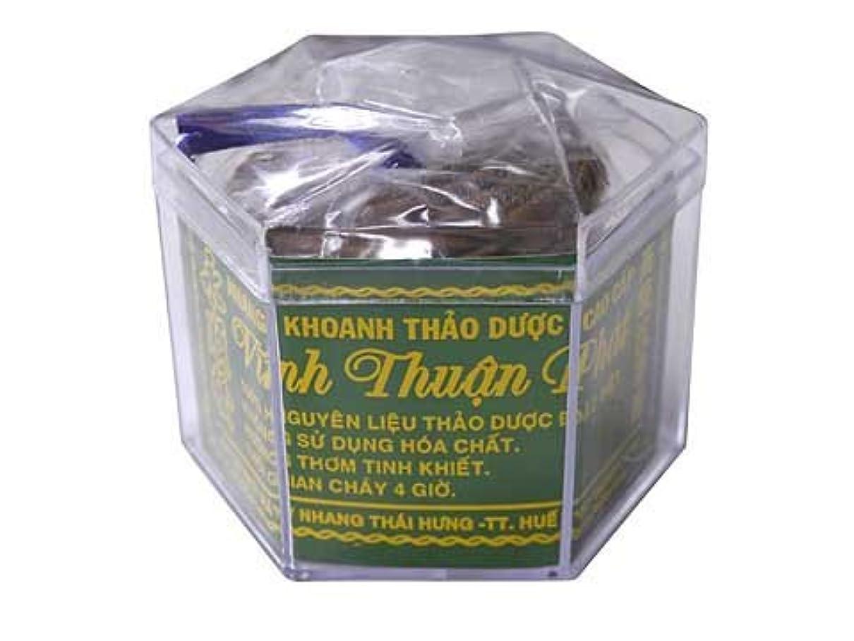 不合格塊賄賂Vietnam Incense ベトナムのお香【高級沈香圓 渦巻き香】永順発