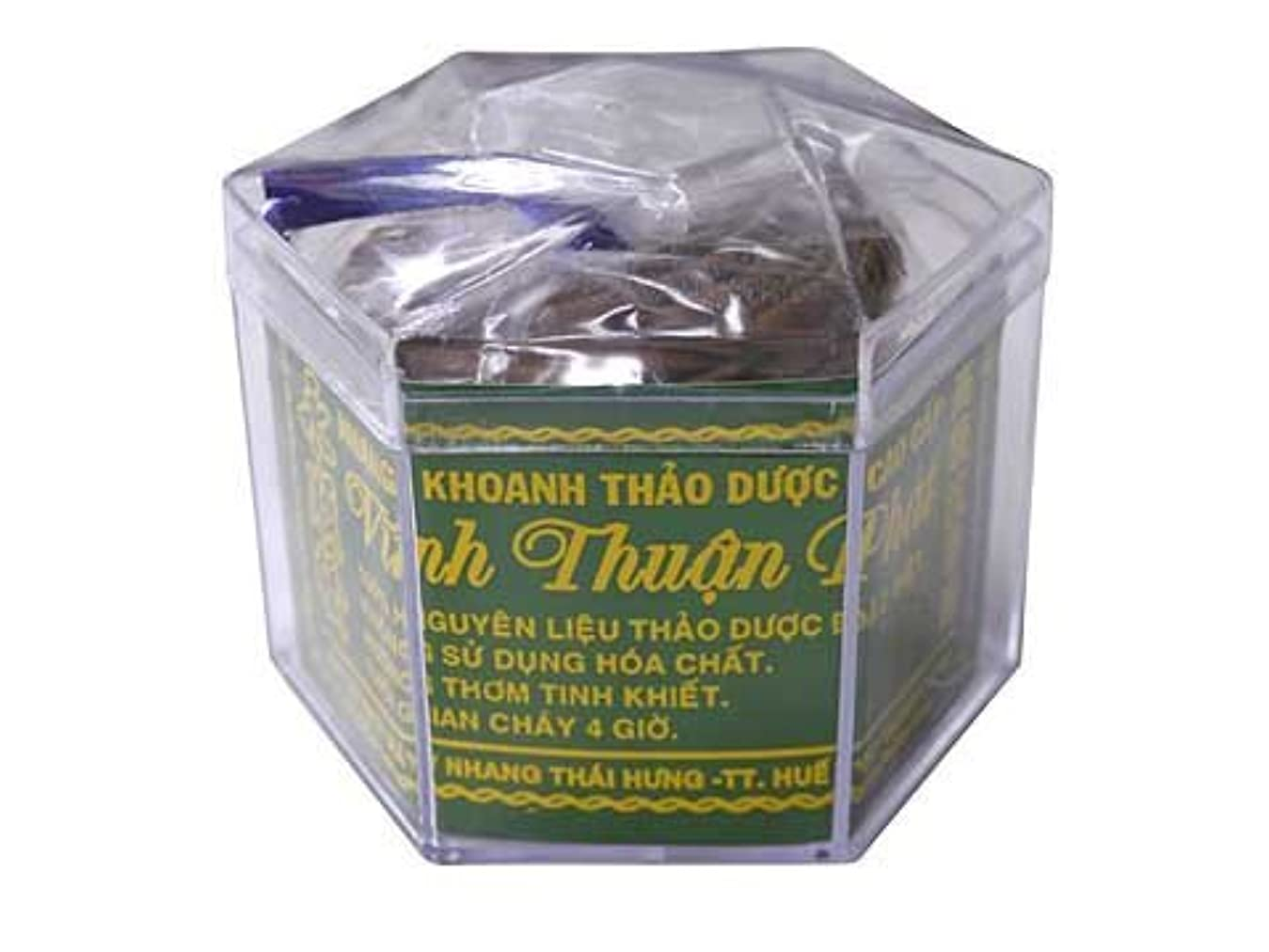 凍る財産港Vietnam Incense ベトナムのお香【高級沈香圓 渦巻き香】永順発