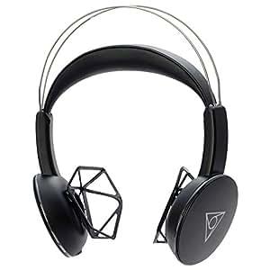 ヴィーシェア(ブラック)/ 耳が痛くならないワイヤレスエアーヘッドホン