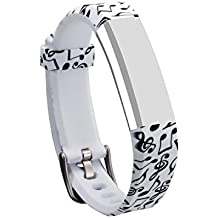 mtsugar 1PC Newest Fitbit Alta/Fitbit Alta HR Replacement Wristband with Secure Clasps (No Tracker, Replacement Bands Only)