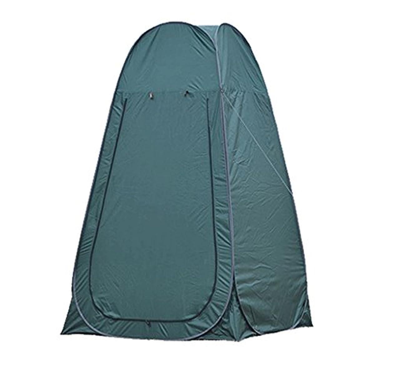労働者一月知らせる[World box]テント ワンタッチ 簡単設営 簡易 折り畳み アウトドア ビーチ キャンプ 更衣室 防災 紫外線防止 日よけ プライベート空間 縦型 軽量 透けない