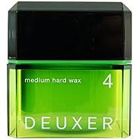 ナンバースリー DEUXER(デューサー) ミディアムハードワックス 4 80g