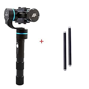 FEIYU FY-G4 ULTRA 3軸 ハンドヘルド STEADY カメラ ジンバル for GOPRO 3 3+ 4 FeiYu FY-G4 3 Axis Handheld Gimbal Brushless Handle Steadycam Steady Camera Mount for Gopro Hero 3 3+ 4 Compatible With Gopro3 LCD Backpack+延長ポール (G4+延長ポール(2本))