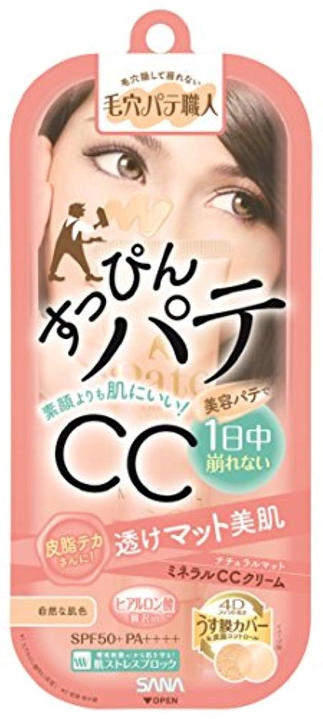 シャイニング味わう水平毛穴パテ職人 ミネラルCCクリーム ナチュラルマット 自然な肌色 30g 皮脂テカさんに