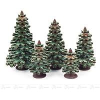 およそ 8 つの cm の上昇の鉱石山の木製の木のクリスマスツリーの球果を結ぶ木の緑の高さ