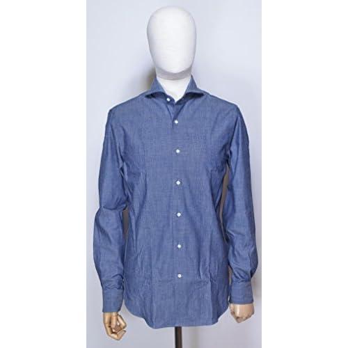 GUYROVERギローバーシャンブレードレスシャツブルー1950x2410 (39)