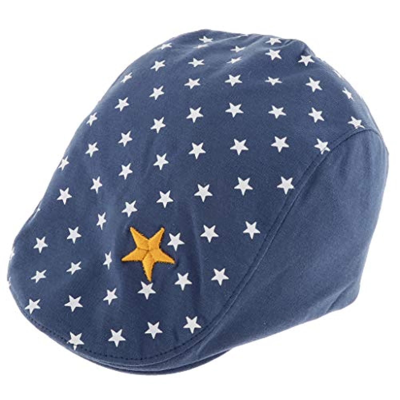 B Blesiya 子供 ユニセックス 春 秋 冬 ハンチング帽 キャップ アウトドア ハンチング フラットキャップ 全3色